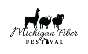 Michigan Fiber Festival Logo